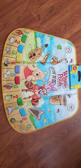 Музыкальный коврик Disney Винни пух