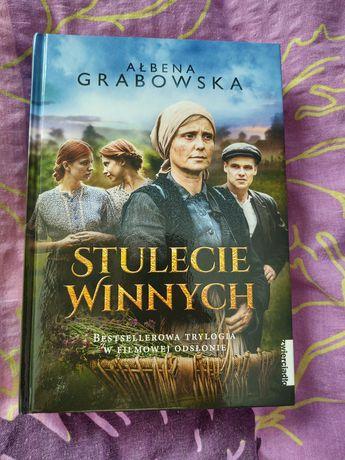"A.Grabowska "" Stulecie Winnych"" trylogia"