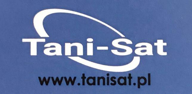 Montaż anten satelitarnych naziemnych DVB-T Pruszków okolice TANIO
