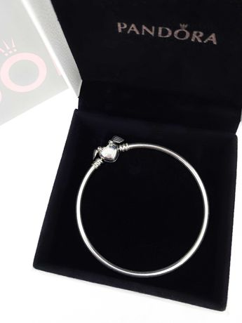 Серебряный браслет-бэнгл Pandora «Cнитч» оригинальная бирка 598619C00