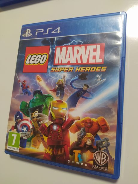 Gra Lego Marvel Super Heroes ps4 PlayStation 4