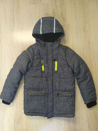 kurtka zimowa Dopo Dopo Boys rozmiar 128 polar jak nowa
