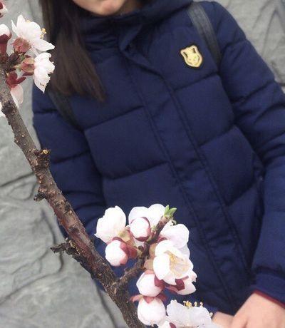 Пуховая куртка женская