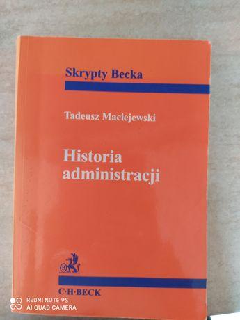 Historia Administracji T.Maciejewski