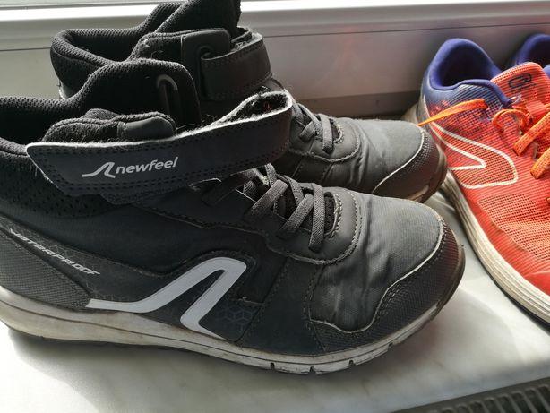 Dwie pary butów z Decathlonu