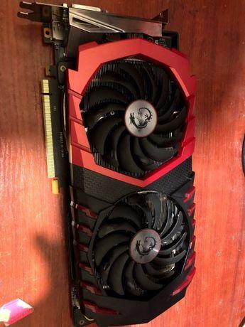 Ігрова відеокарта GTX 1060 3Gb MSI GamingX Nvidia GeForce робоча бу