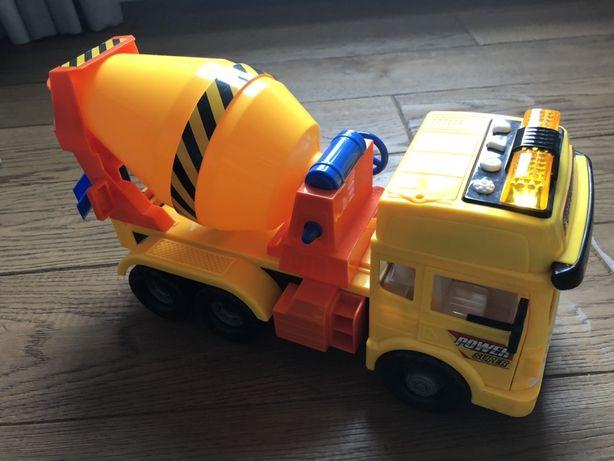 Auto betoniarka z dźwiękiem i światłem