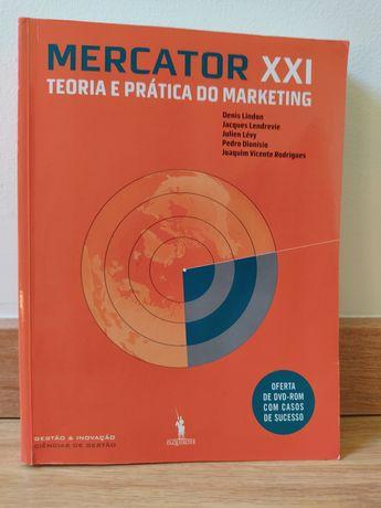 """Livro """"Mercator XXI teoria e prática do marketing"""""""