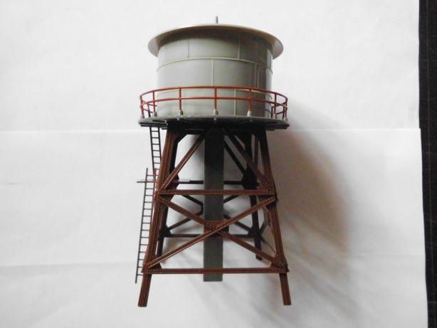 wieża ciśnień do sklejania z instrukcją, makieta H0 skala 1:87 faller
