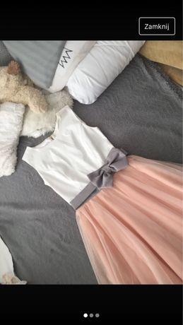 Sukienka rozkroszowana