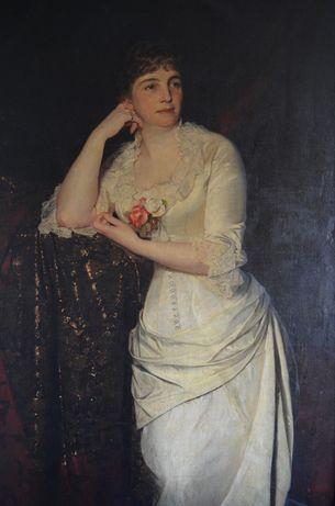 Срочно! Картина большая , величественная , конец 19 века