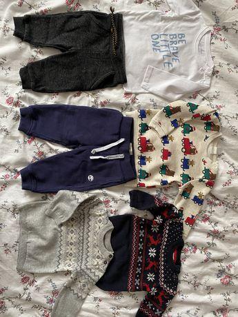 Paka ubrań dla chlopca 68