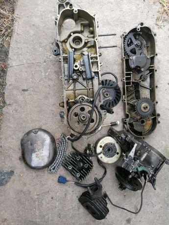 Двигатель 2х тактный  на скутер