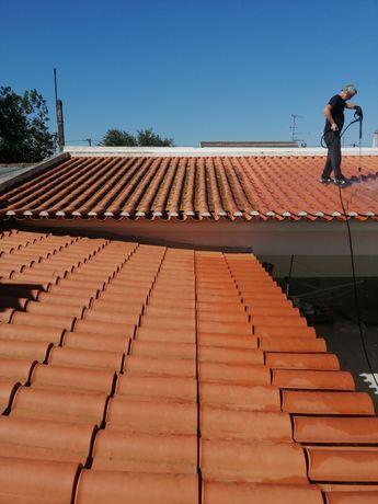 Limpeza de telhados e todo o tipo de Trabalho construção civil