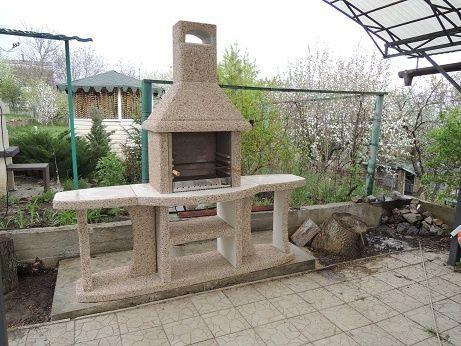 Cадовые барбекю, садовая печь гриль, уличные камины барбекю для сада
