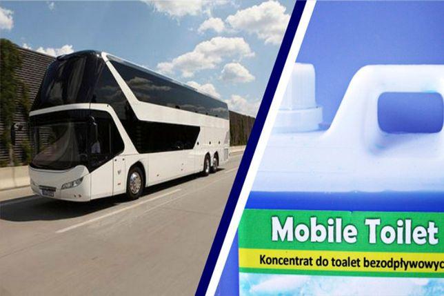 Skoncentrowany płyn do toalet turystycznych Mobile Toilet. 2l i 5l.