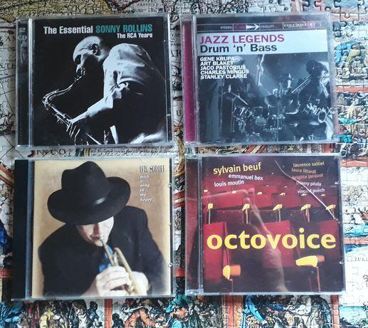 CD jazz Sonny Rollins, Lew Soloff, Sylvain Beuf, Jazz Legends