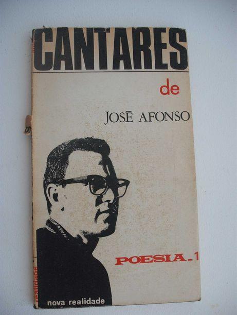 Zeca AFonso Livro Cantares Poesia 1967