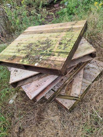 Oddam deski, palety, bloczki betonowe ytong
