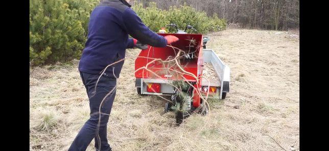 Usługi rębakiem, wycinka drzew, koszenie trawy, sprzątanie działek