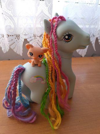 Littlest Pet Shop Prosiak 2006 Hasbro, konik MLP Rainbow Dash 2005