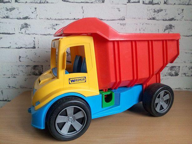 Детская яркая большая прогулочная машина,каталка,машинка грузовик.