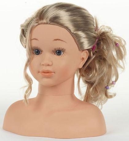 Манекен кукла для создания причесок и макияжа Klein 5240