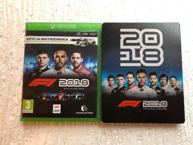 F1 2018 Steelbook / Xbox One / PL / Sklep Gamebox / Wymiana Gier