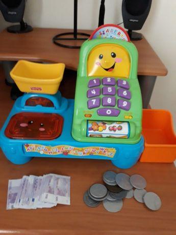 Máquina registadora e telefone, Fisher Price