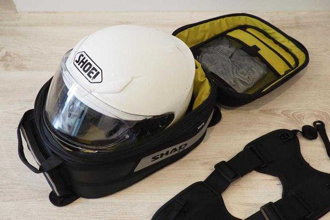 Mala de depósito para mota / Motorcycle tank bag - 21 a 31 L