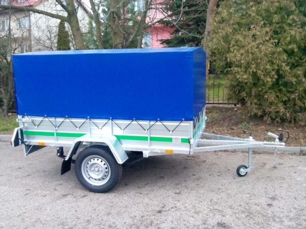 EXPANDER - przyczepka samochodowa DMC 750 kg z HOMOLOGACJĄ