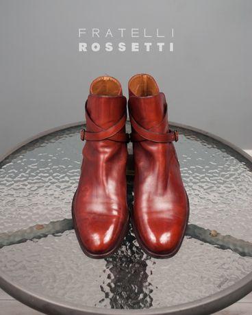 Сапоги Fratelli Rossetti, Италия 43 44 ботинки кожа Churchs Cheaney