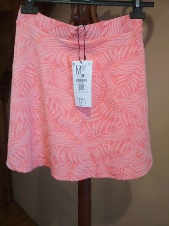 Różowa trapezowa spódnica Bershka M