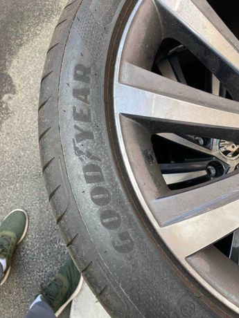 Комплект летних шин Goodyear Eagle F1 Asymmetric 5 225/45R18 91Y