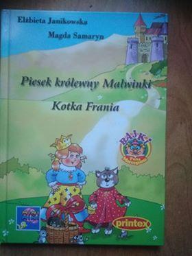 Piesek królewny Malwinki kotka Frania E. Janikowska M.Samaryn