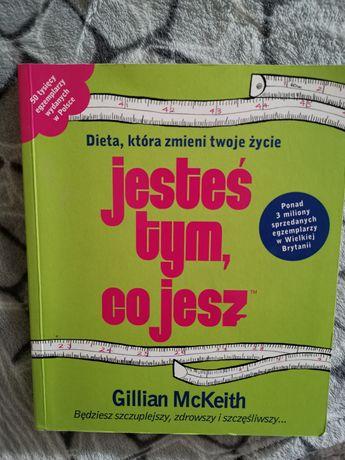 """Książka kucharska """"Jesteś tym co jesz"""" Gillian McKeith"""
