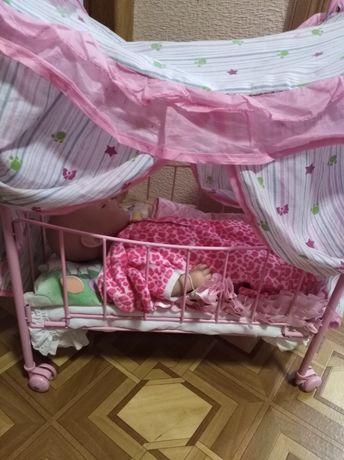 Кроватка для кукол большая