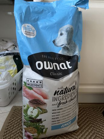 Alimento para cão Ownat Junior