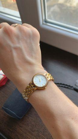 Оригинал Япония женские часы Lorus водонепроницаемые золотой браслет