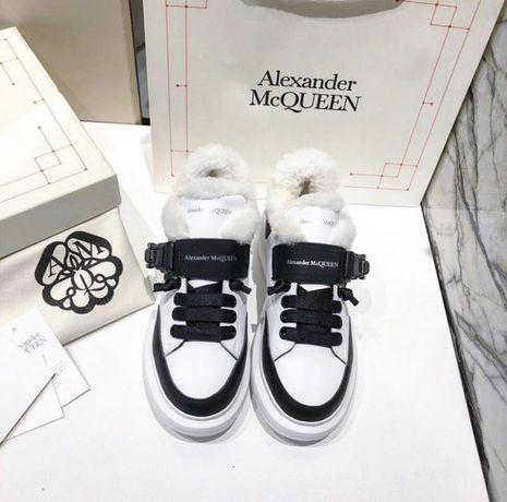 Кроссовки женские зимние Alexander McQueen
