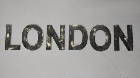 Декорация, буквы LONDON (меттал) Декор для магазина, выставки