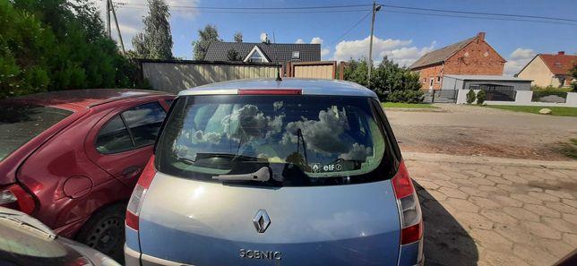Renault Scenic II 2 Klapa bagażnika kompletna