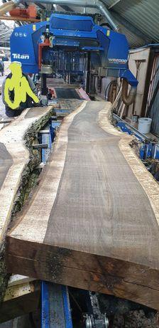 Orzech włoski drzewo dąb pień drzewo foszty deski monolit stół meble