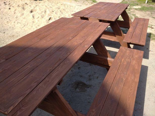 Ława, stół ogrodowy. Solidny, stabilny. Różne kolory.