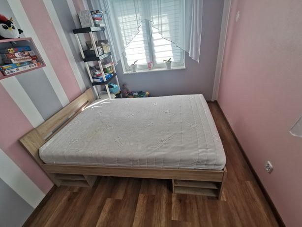 SPRZEDAM Ostateczna Cena !!! Łóżko Sypialniane 200x140 + Materac