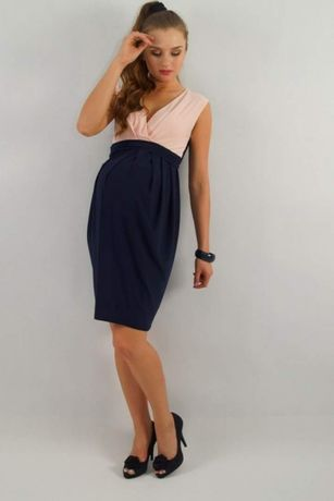 Elegancka sukienka ciążowa okazja