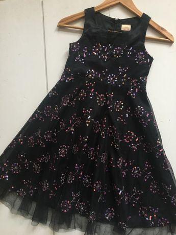 Красивое платье на 8-9 лет рост 134см нарядное плаття сукня next