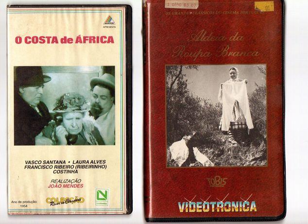 Colecção filmes vintage VHS Clássicos Cinema Português ORIGINAIS