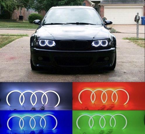 Ангельские глазки Cotton RGB BMW E30,E32,Е34,E39,E46,E38,E53