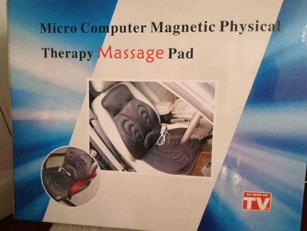Capa de massagem eletrónica